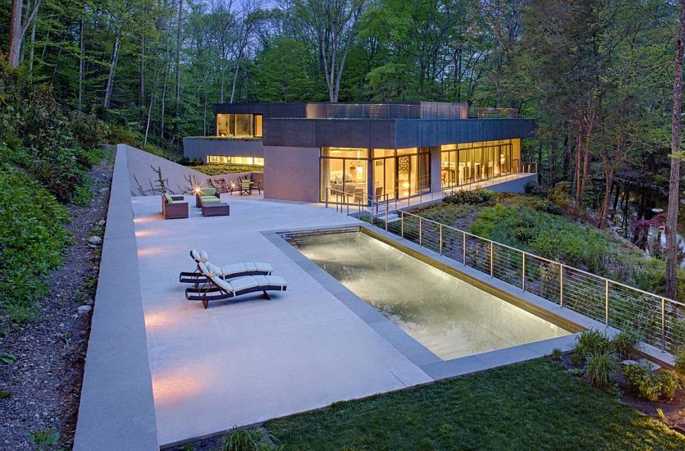 1049 Weston Residence   Ngôi nhà bên hồ với kiến trúc xanh tuyệt vời qpdesign