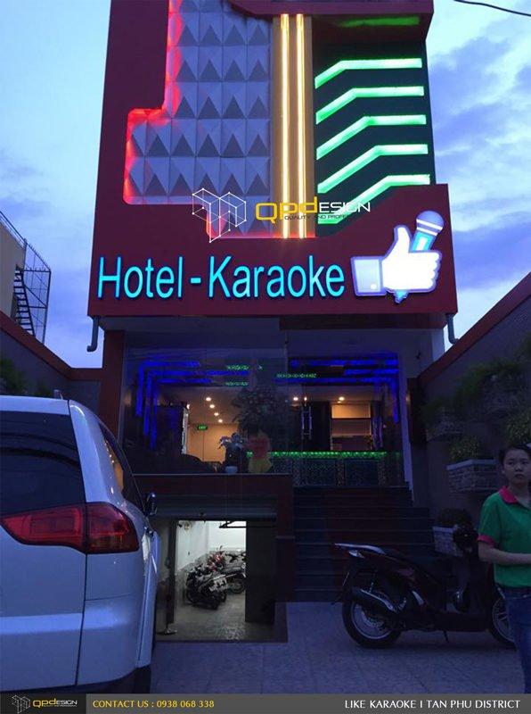 Thiết kế - Thi công Karaoke Like 1