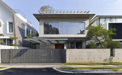 Chiltern House – Nhà phố hiện đại với nhiều không gian xanh