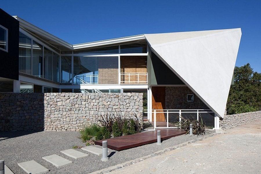 1150 Biệt thự nghỉ dưỡng ấn tượng với mái nhà độc đáo qpdesign