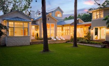 Rock Cliff Residence – Ngôi nhà cổ điển nằm tại vùng ngoại ô Austin