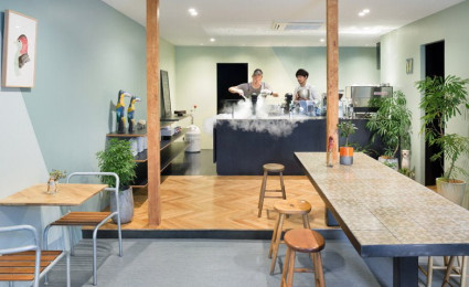 Snow Picnic – Quán cafe kem đáng yêu tại Nhật Bản