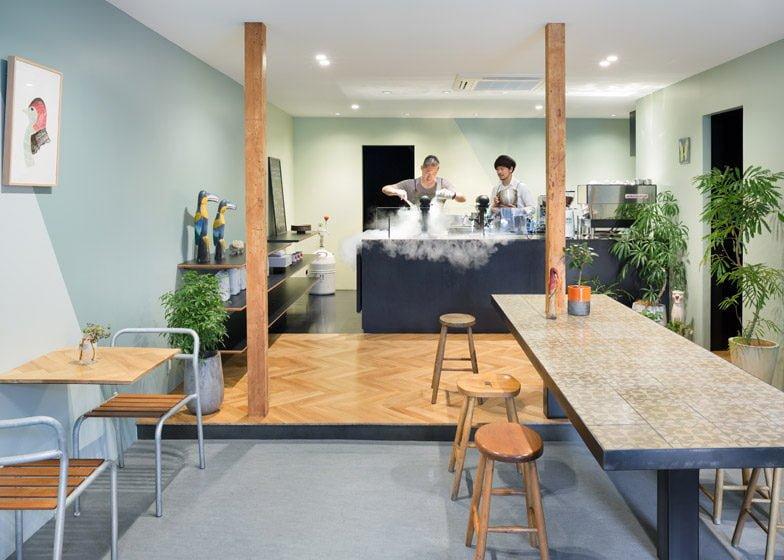 1161 Snow Picnic   Quán cafe kem đáng yêu tại Nhật Bản qpdesign