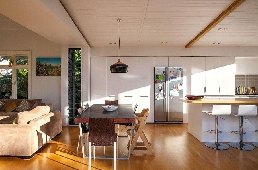 1172 Thiết kế nhà phố đơn giản nhưng vẫn thu hút nhờ nội thất ấn tượng qpdesign