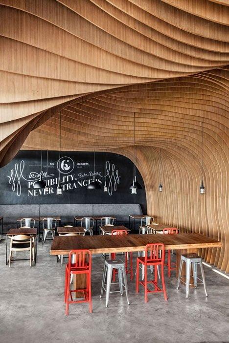 1173 Six Degrees Cafe   Thiết kế cafe độc đáo tại Indonesia qpdesign