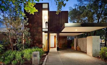 Down Under House – Căn nhà gỗ hiện đại tại Melbourne