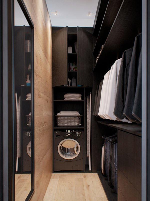 1233 Căn hộ một phòng ngủ với thiết kế lôi cuốn tại Nga qpdesign