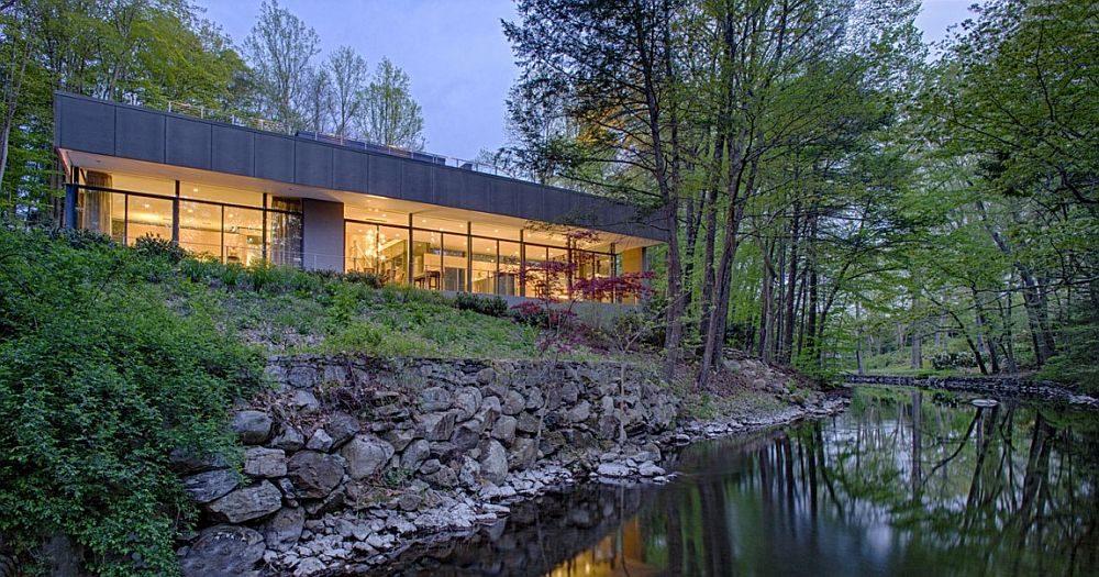 1246 Weston Residence   Ngôi nhà bên hồ với kiến trúc xanh tuyệt vời qpdesign