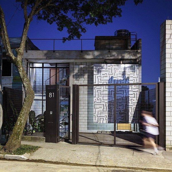 Maracanã House - Mang thiên nhiên vào không gian hiện đại