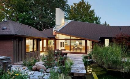 Ngôi nhà vườn xinh xắn và lãng mạn tại Canada