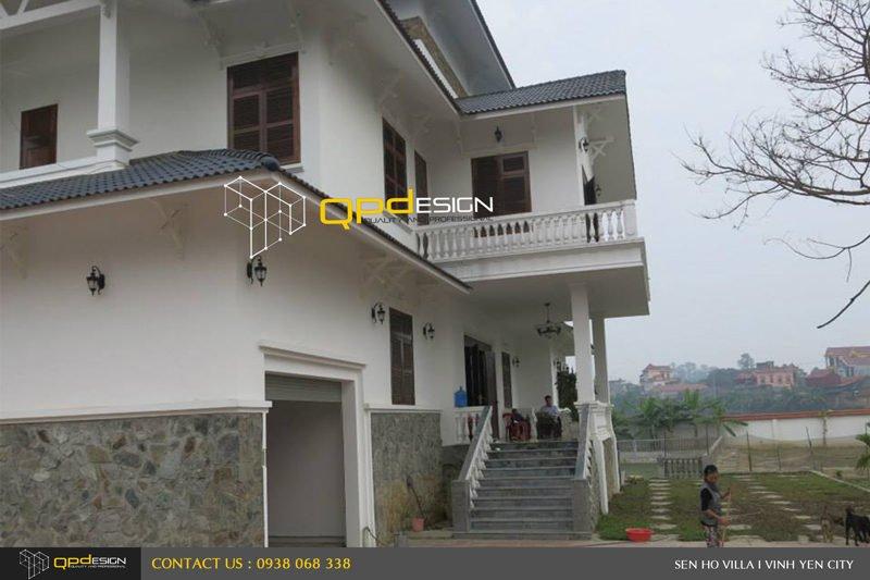 1423 Thiết kế   Thi công biệt thự Sen Hồ qpdesign