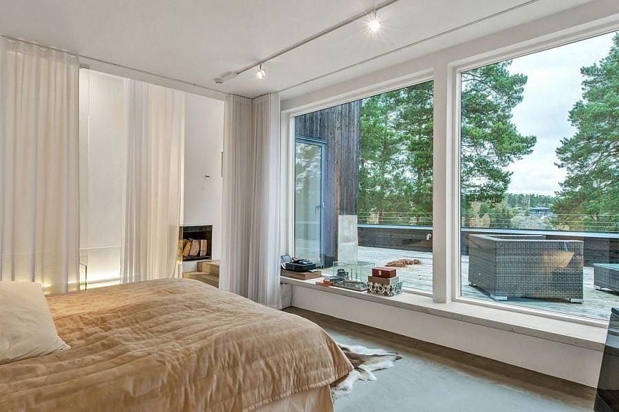 Nội thất độc đáo của biệt thự hiện đại tại Thụy Điển