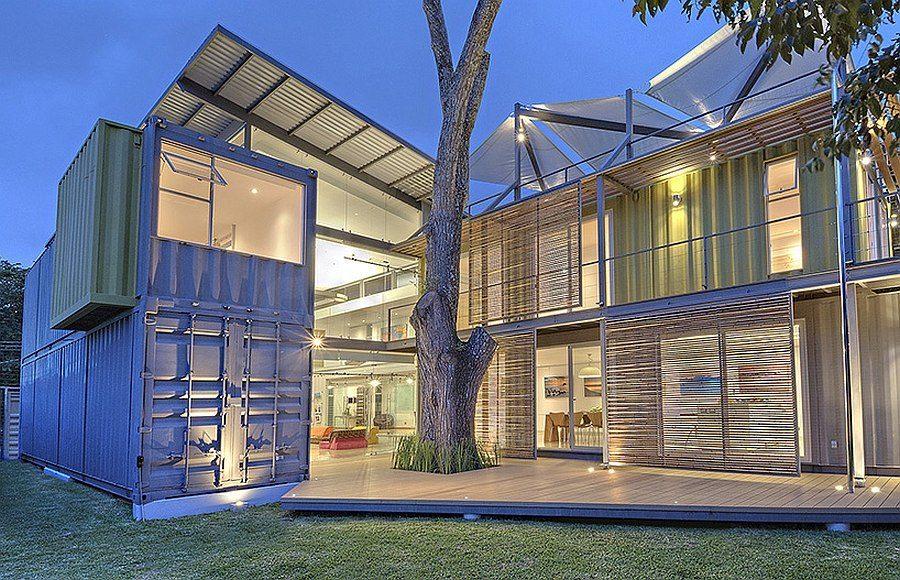 148 Ngôi nhà Container lạ mắt nhưng vẫn sang trọng và sành điệu qpdesign