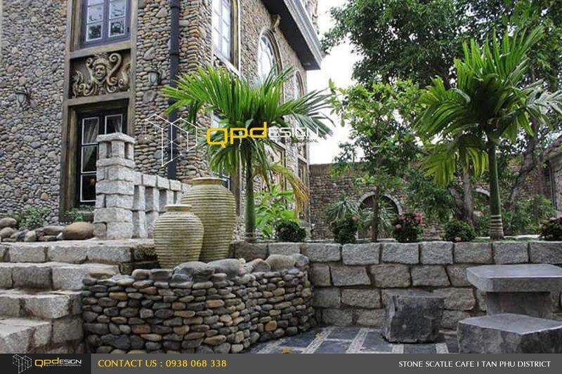 1514 Thiết kế thi công nâng cấp cafe Lâu Đài Đá ( Stone Castle) qpdesign