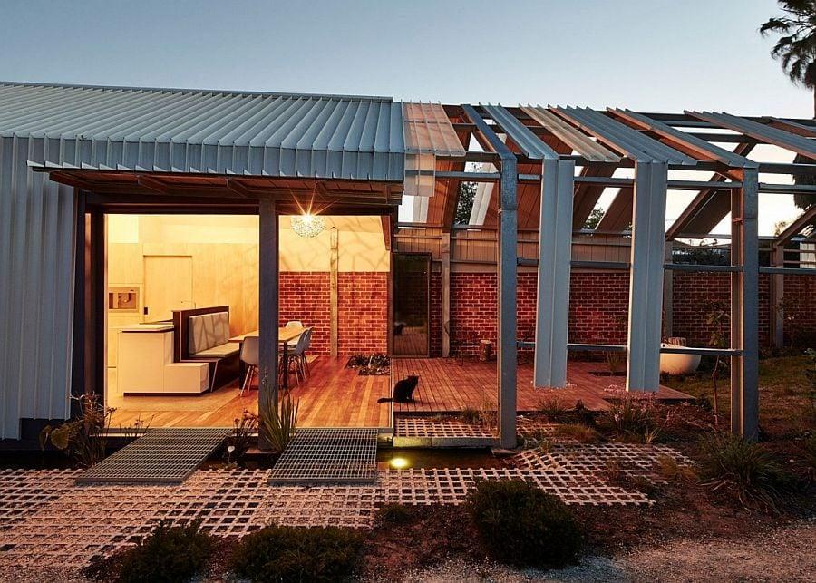 1618 Ngôi nhà với thiết kế không gian mở vô cùng độc đáo tại Úc qpdesign