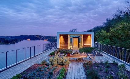 The Cliff Dwelling – Ngôi nhà thú vị với lối vào nằm trên sân thượng