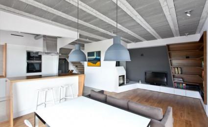 Thiết kế nhà ở tại Ba Lan kết hợp hai phong cách Scandinavian và Minimalist