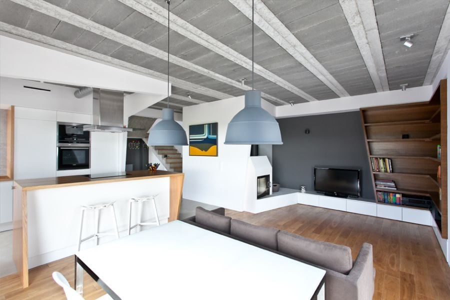 190 Thiết kế nhà ở tại Ba Lan kết hợp hai phong cách Scandinavian và Minimalist qpdesign
