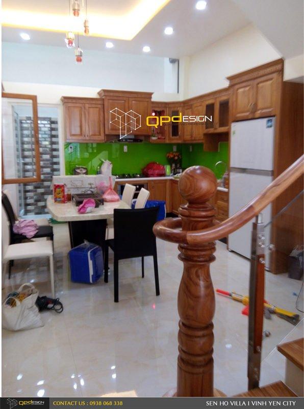 Thiết kế - Thi công biệt thự Sen Hồ