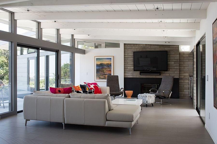 Hiện đại hóa ngôi nhà cũ thành một không gian sống tiện nghi