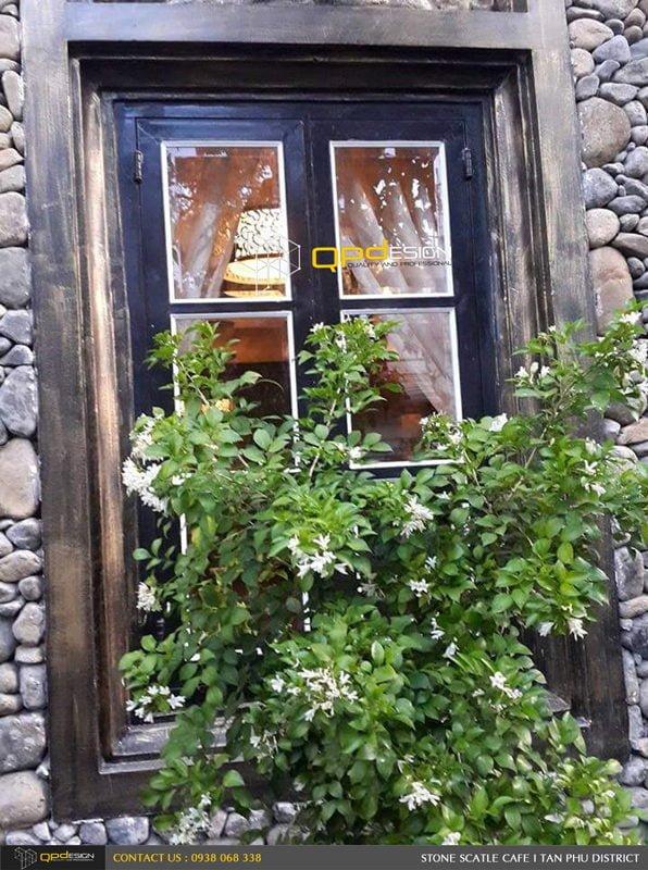 203 Thiết kế thi công nâng cấp cafe Lâu Đài Đá ( Stone Castle) qpdesign