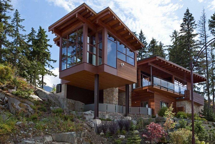 biệt thự nghỉ dưỡng gỗ 2