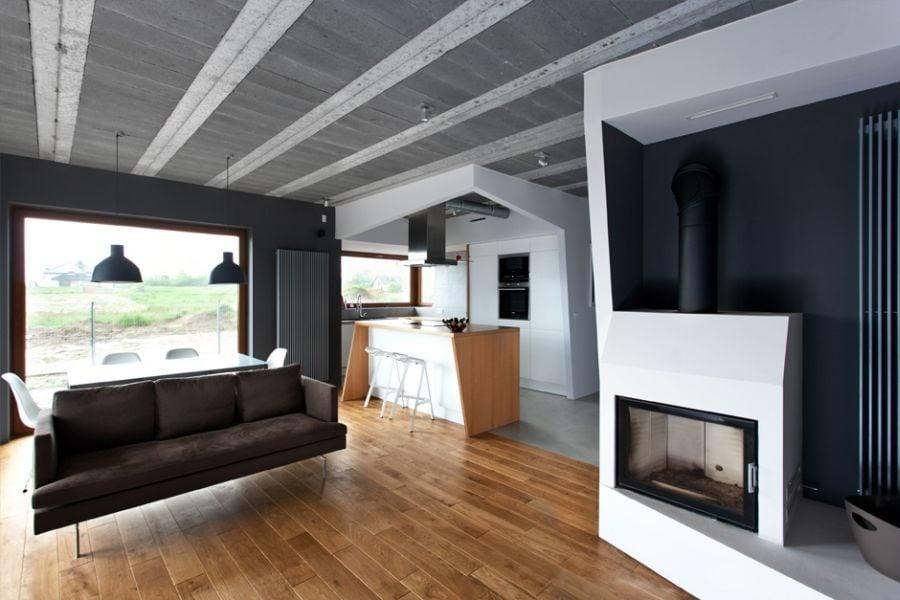 234 Thiết kế nhà ở tại Ba Lan kết hợp hai phong cách Scandinavian và Minimalist qpdesign