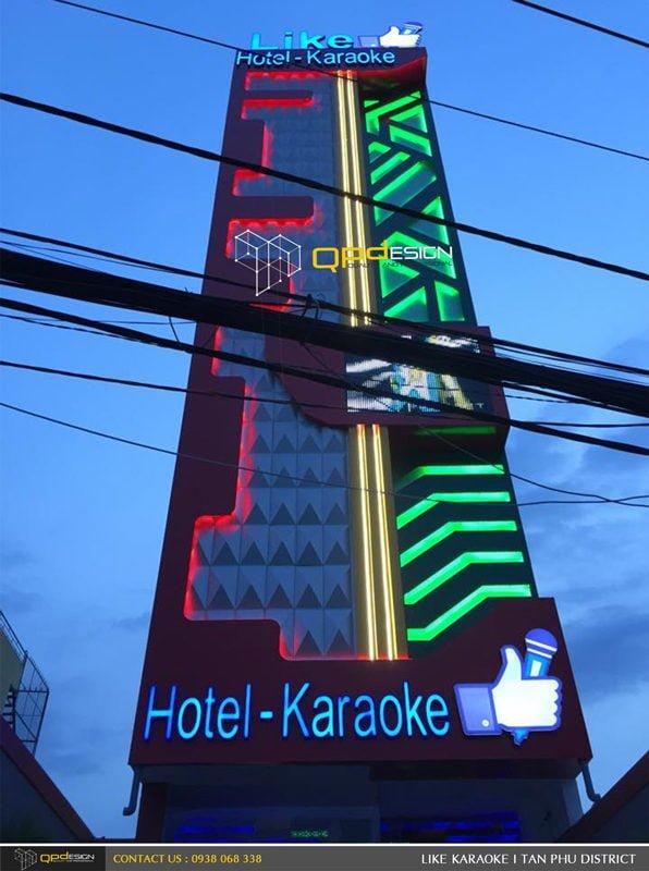 Thiết kế - Thi công Karaoke Like 2