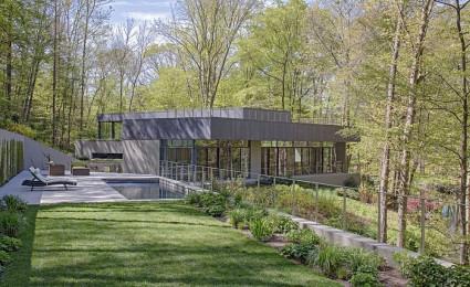 Weston Residence – Ngôi nhà bên hồ với kiến trúc xanh tuyệt vời