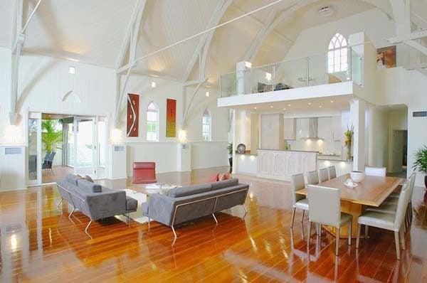 290 Nhà thờ được cải tạo lại thành một không gian sống hiện đại và tiện nghi qpdesign