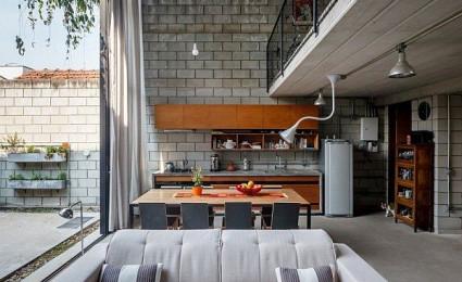Maracanã House – Mang thiên nhiên vào không gian hiện đại