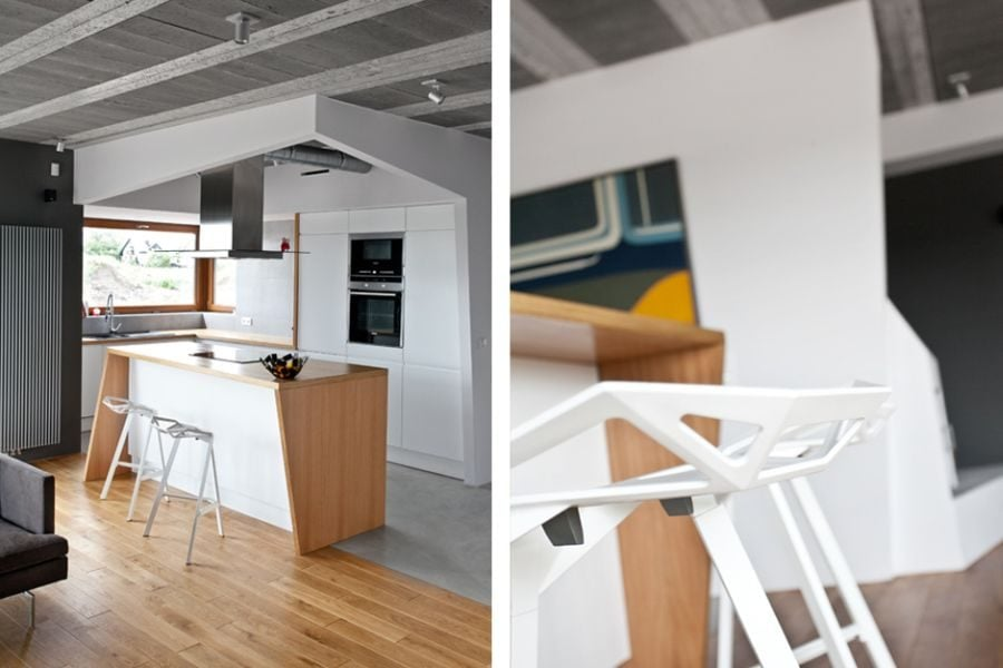 430 Thiết kế nhà ở tại Ba Lan kết hợp hai phong cách Scandinavian và Minimalist qpdesign