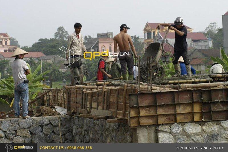 436 Thiết kế   Thi công biệt thự Sen Hồ qpdesign