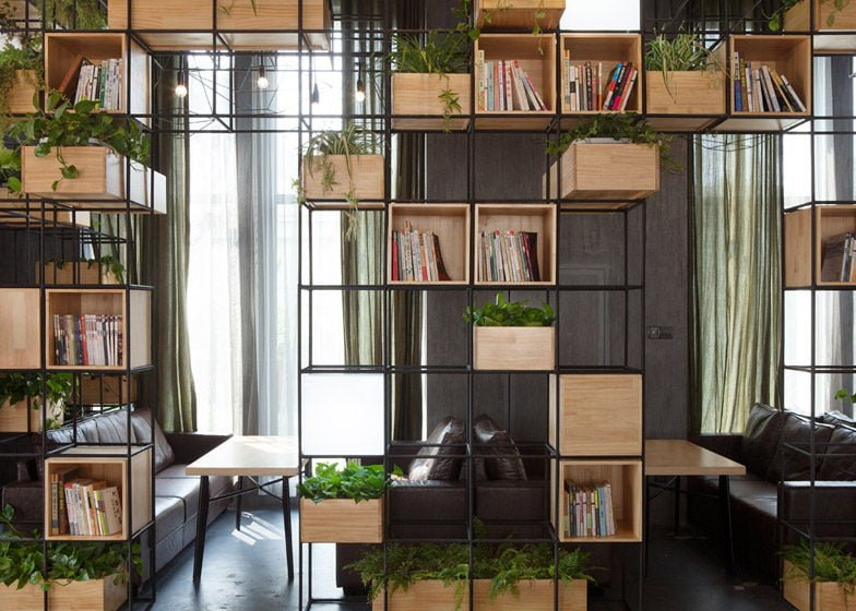 458 Thiết kế cafe xanh ấn tượng và thân thiện với môi trường qpdesign