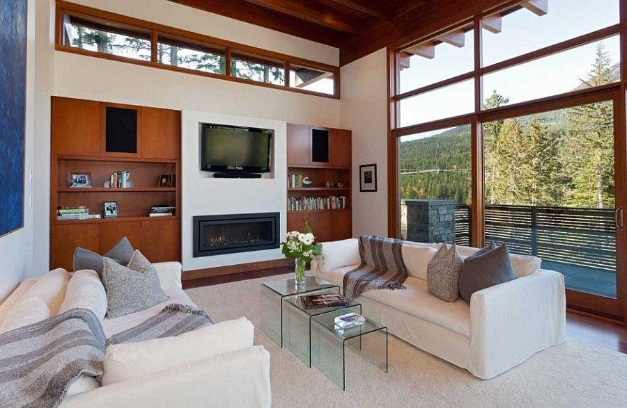 515 Biệt thự nghỉ dưỡng gỗ trên sườn đồi thơ mộng tại Canada qpdesign