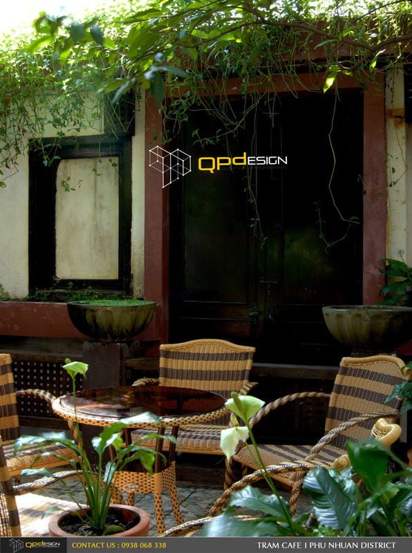 Thiết kế thi công Cafe Trầm 5