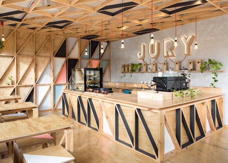 535 Jury Cafe   Quán cafe đầy màu sắc với thiết kế sáng tạo tại Úc qpdesign