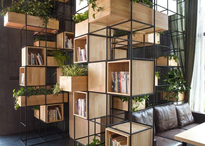 559 Thiết kế cafe xanh ấn tượng và thân thiện với môi trường qpdesign