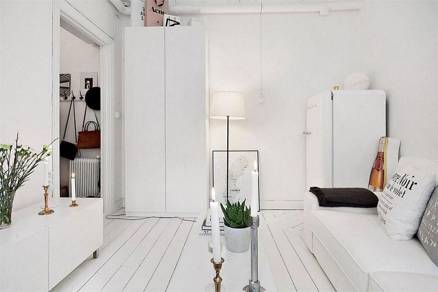 635 Căn hộ siêu nhỏ nhưng vẫn đầy đủ tiện nghi tại Thụy Điển qpdesign