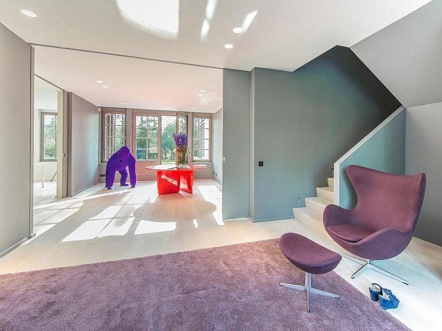 65 Ấn tượng với thiết kế nội thất biệt thự vô cùng tinh tế tại Bỉ qpdesign