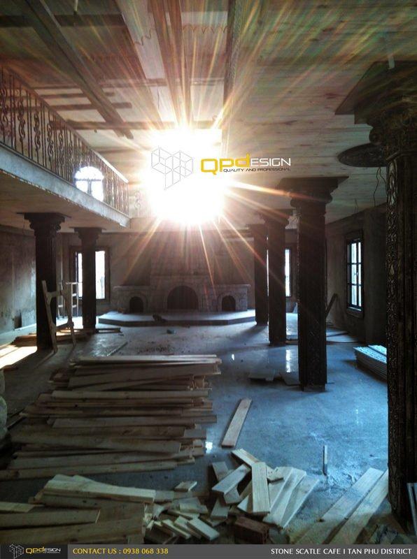 Thiết kế thi công nâng cấp cafe Lâu Đài Đá ( Stone Castle) 6A