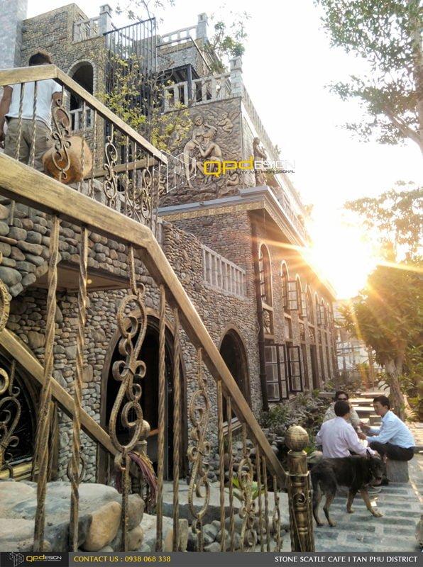 Thiết kế thi công nâng cấp cafe Lâu Đài Đá ( Stone Castle) 7