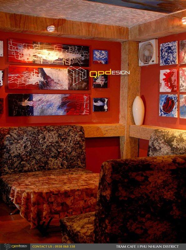 Thiết kế thi công Cafe Trầm 7