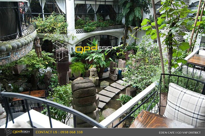 739 Thiết kế – Thi công Cafe địa Đàng qpdesign