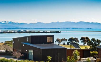 Nelson House – Ngôi nhà hình khối đơn giản nhưng vẫn ấn tượng tại New Zealand