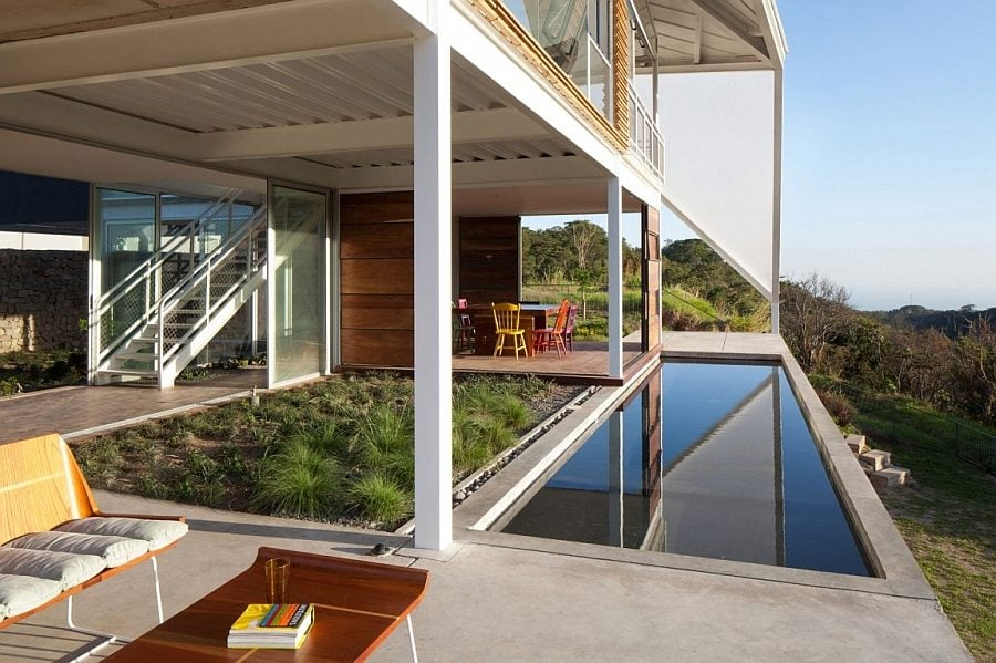 752 Biệt thự nghỉ dưỡng ấn tượng với mái nhà độc đáo qpdesign
