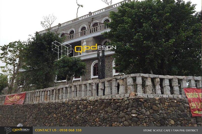 Thiết kế thi công nâng cấp cafe Lâu Đài Đá ( Stone Castle) 7B