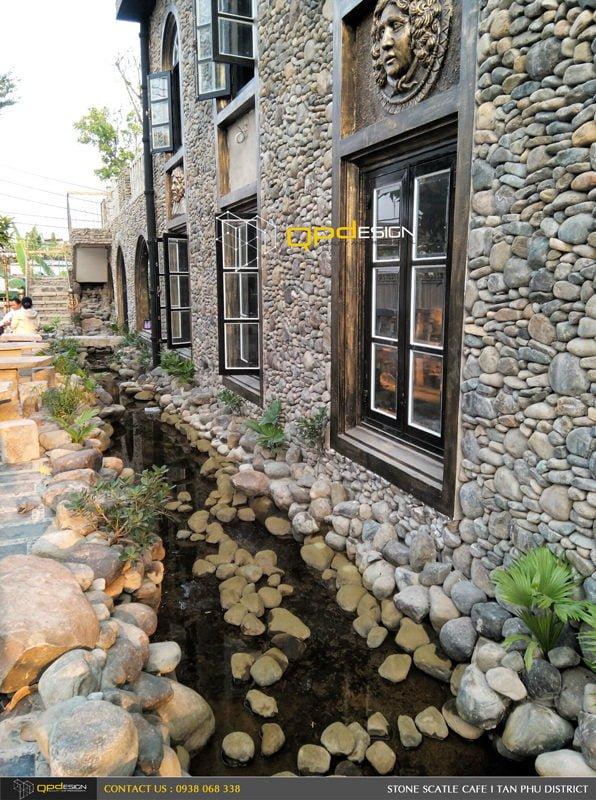 Thiết kế thi công nâng cấp cafe Lâu Đài Đá ( Stone Castle) 7C