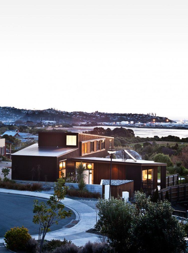 850 Nelson House   Ngôi nhà hình khối đơn giản nhưng vẫn ấn tượng tại New Zealand qpdesign