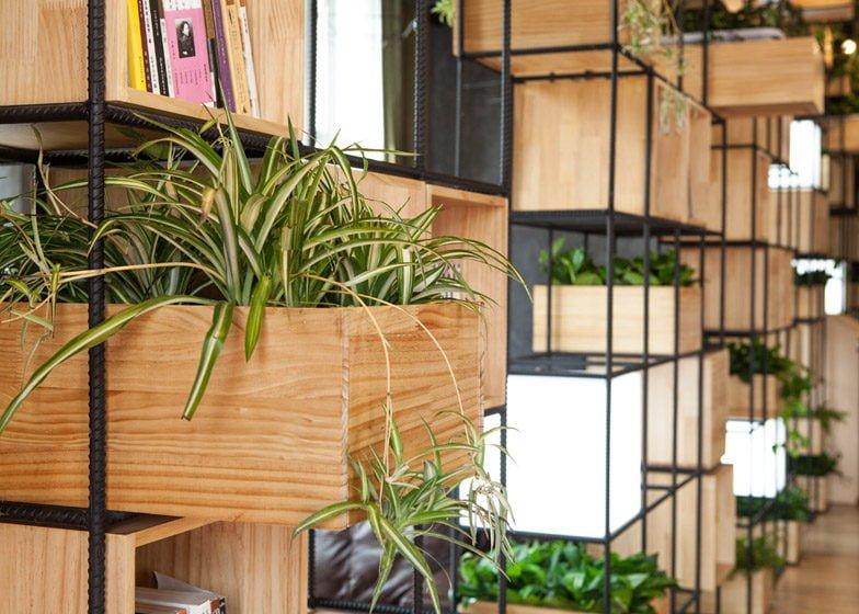 859 Thiết kế cafe xanh ấn tượng và thân thiện với môi trường qpdesign